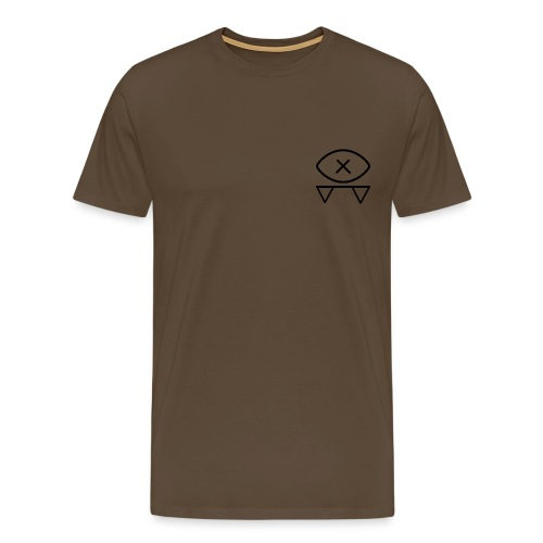 Blind Bat Symbol - Men's Premium T-Shirt