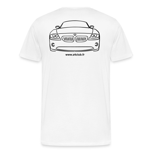 Z4 Roadster Face - T-shirt Premium Homme