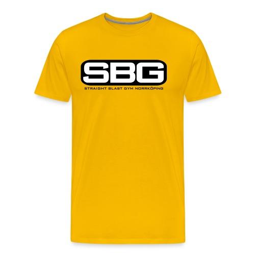 SBG Norrköping 2 färg - Premium-T-shirt herr