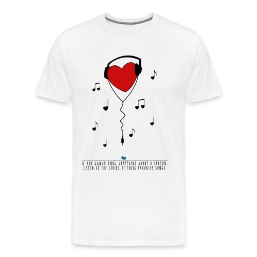 Shirt Music - Männer Premium T-Shirt