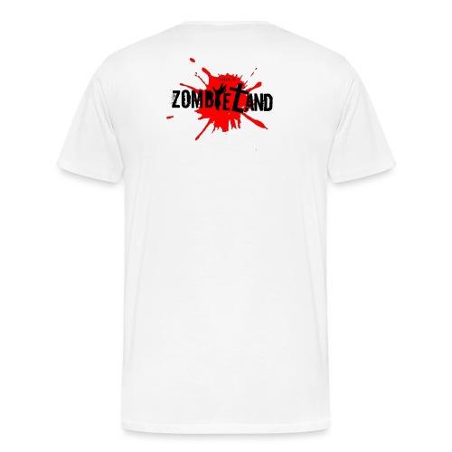 Zombieland Austria Logo Transperent png - Männer Premium T-Shirt
