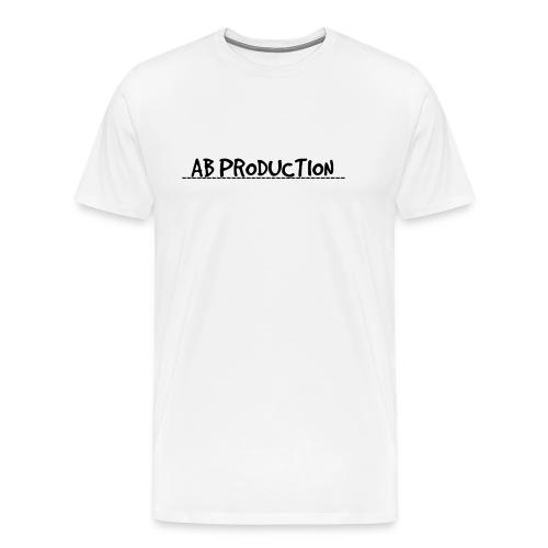 YouTube un Art Template png - Herre premium T-shirt