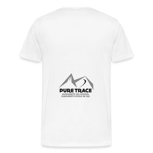logo-PURE_TRACE-black - T-shirt Premium Homme