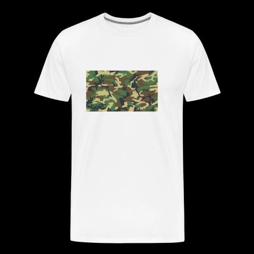 camouflage - Männer Premium T-Shirt