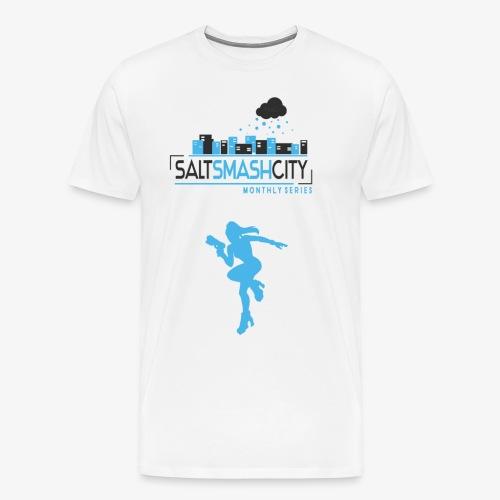 Salt Smash City ZZS png - Männer Premium T-Shirt