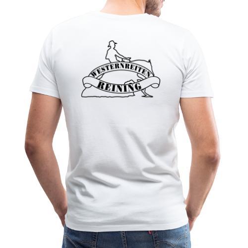 Westernreiten - Reining- Custom Tee Design - Männer Premium T-Shirt
