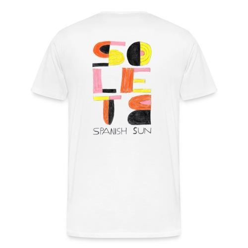 solete mirò - Camiseta premium hombre