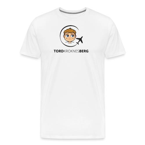 Tord Kroknes Berg - Premium T-skjorte for menn