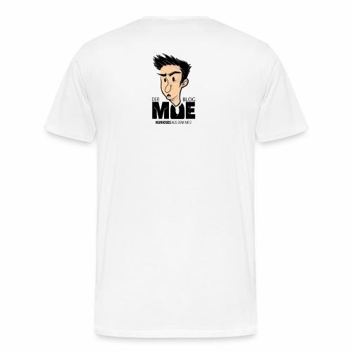 derMoeduck2 durchsich - Männer Premium T-Shirt
