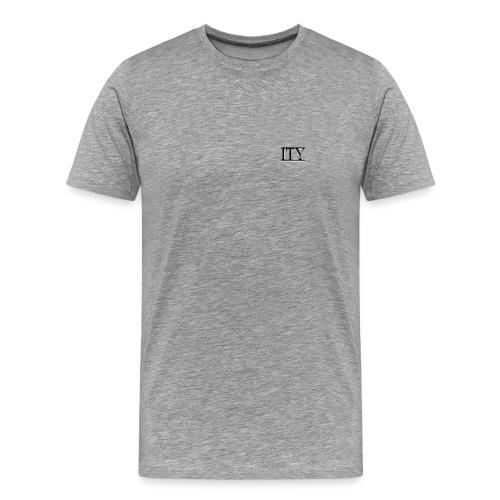ITY Logo Vector - Men's Premium T-Shirt