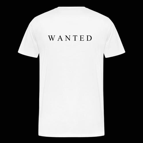 Wanted ecrit - T-shirt Premium Homme