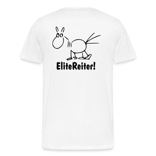 EliteReiter! Pferd - Männer Premium T-Shirt