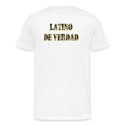 Latino de verdad - Männer Premium T-Shirt