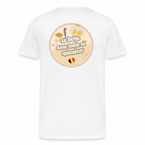 logo Le belge - T-shirt Premium Homme