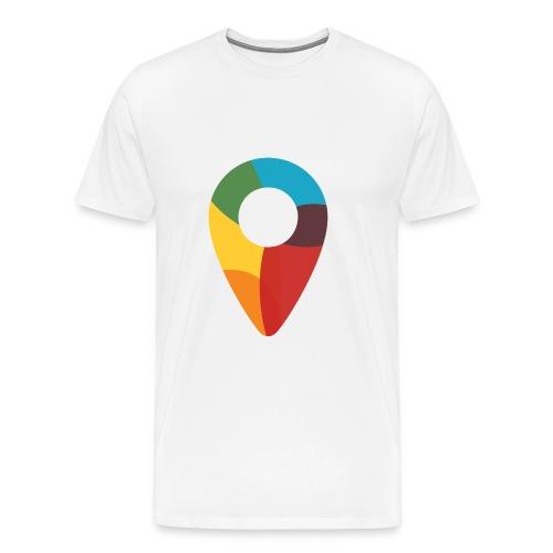 FoundedX monogram png - Men's Premium T-Shirt