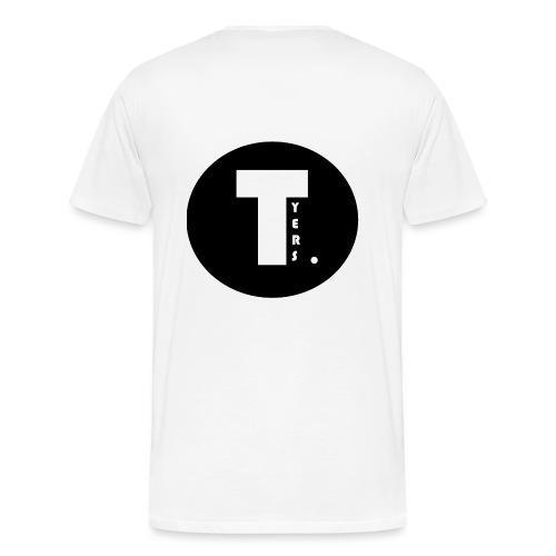 T by Tyers Logo au dos - T-shirt Premium Homme