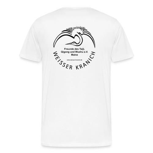kranichlogo - Männer Premium T-Shirt