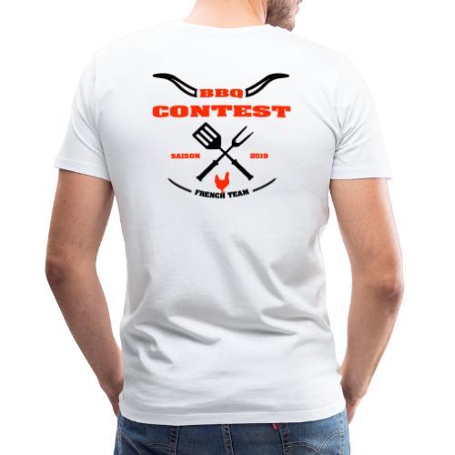 BBQ Contest Saison 2019 - T-shirt Premium Homme