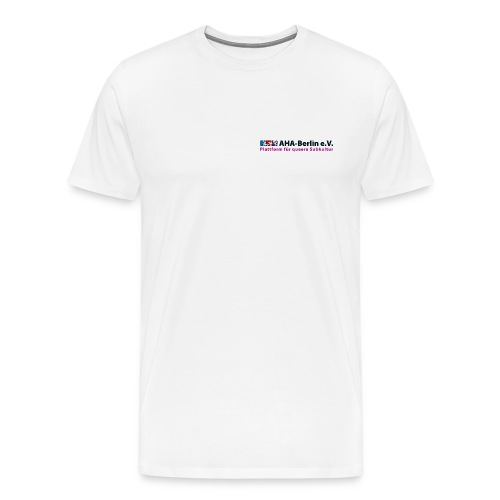 Logo Flach - Männer Premium T-Shirt