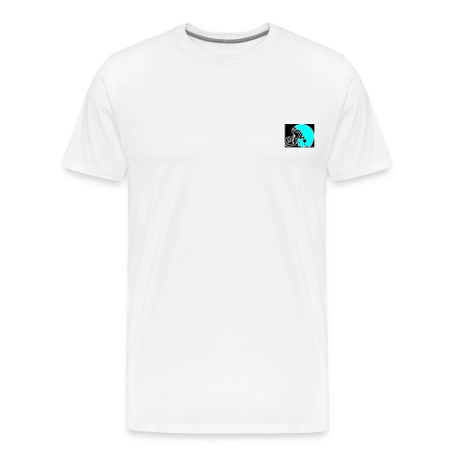 P Helm links - Männer Premium T-Shirt