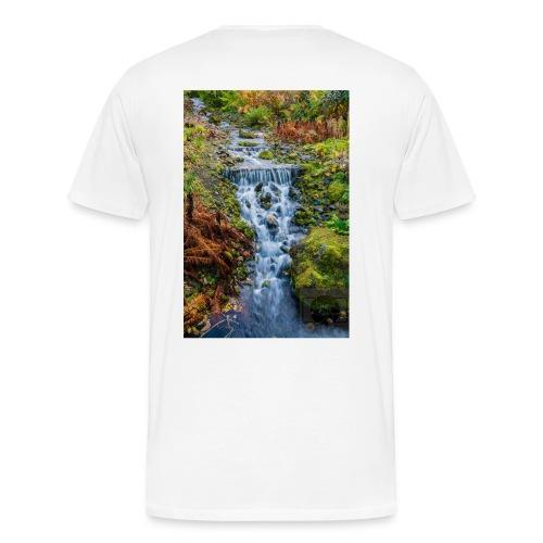 Cascada - Camiseta premium hombre