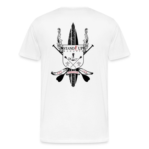 Stand Up Magazin Wappen - Männer Premium T-Shirt