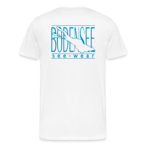 see schrift - Männer Premium T-Shirt