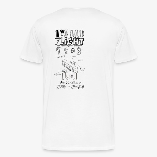 1stcontroled flight - T-shirt Premium Homme