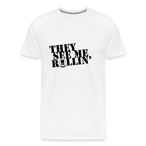 They see me rollin' - on EUC - Herre premium T-shirt