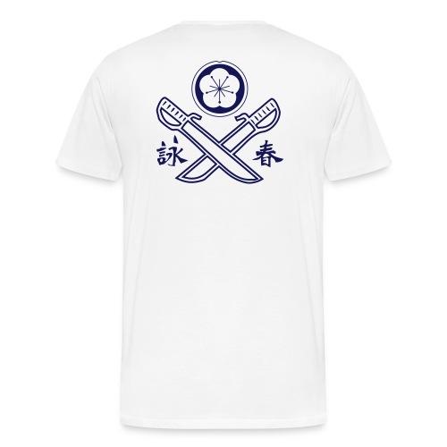 Doppelmesser - Männer Premium T-Shirt