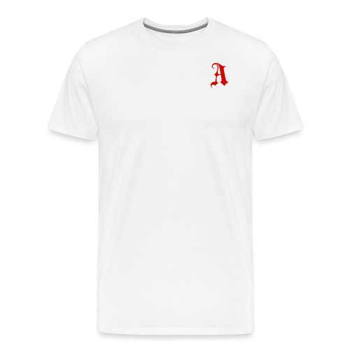 auuxxxxxxo a red png - Men's Premium T-Shirt