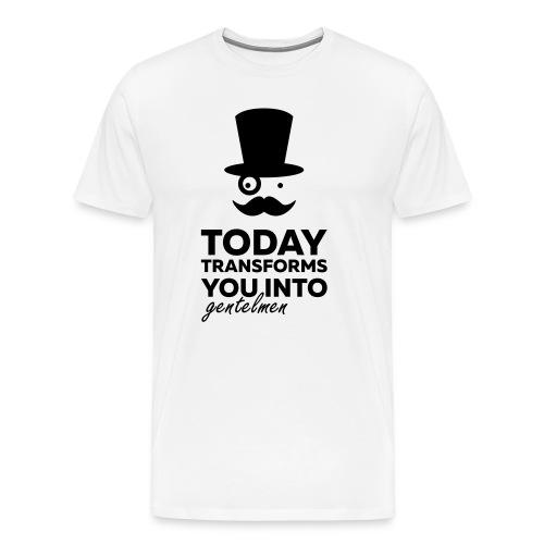 Gentleman today ? - T-shirt Premium Homme