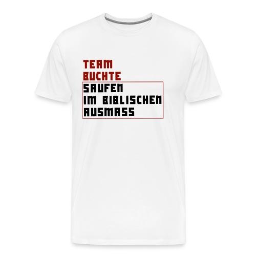 saufen im biblischen ausmaß png - Männer Premium T-Shirt