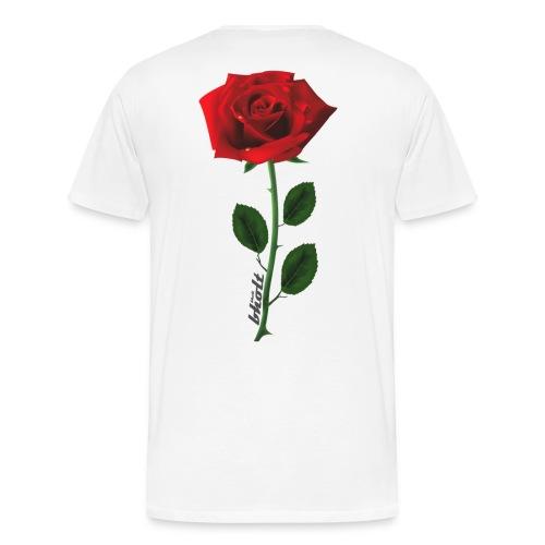 Rose 1 - Herre premium T-shirt