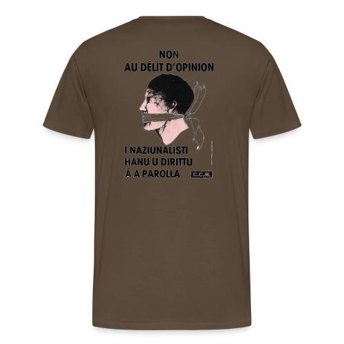 délit opinion - T-shirt Premium Homme