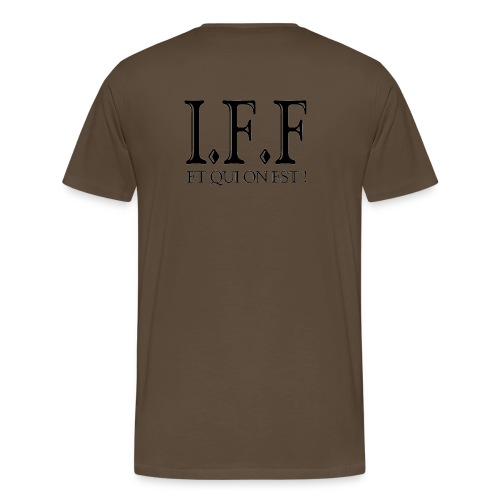 IFF FACISTI FORA - T-shirt Premium Homme