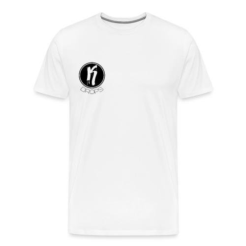 KDrops Black Logo - Men's Premium T-Shirt