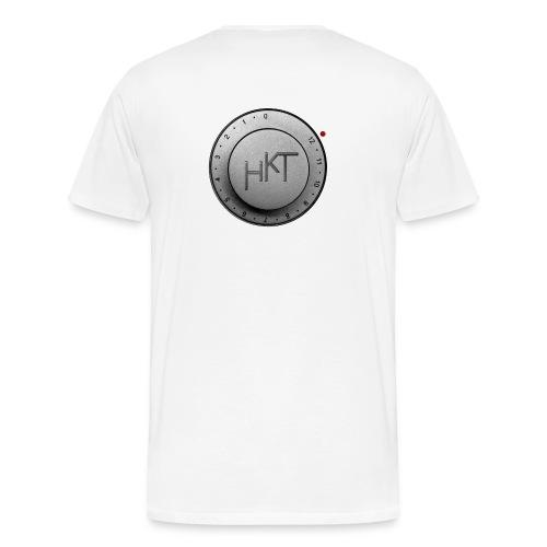 poti jpg 02 sw mit rot - Männer Premium T-Shirt