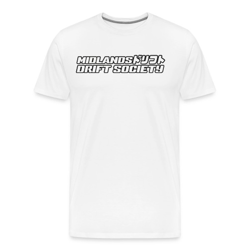 MDS-NEW_BLACK_WHITE_FULL1 - Men's Premium T-Shirt