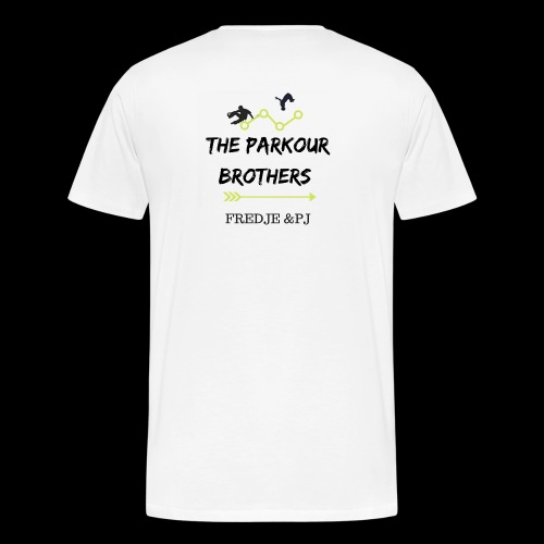 The parkours brothers T-shirt - Mannen Premium T-shirt