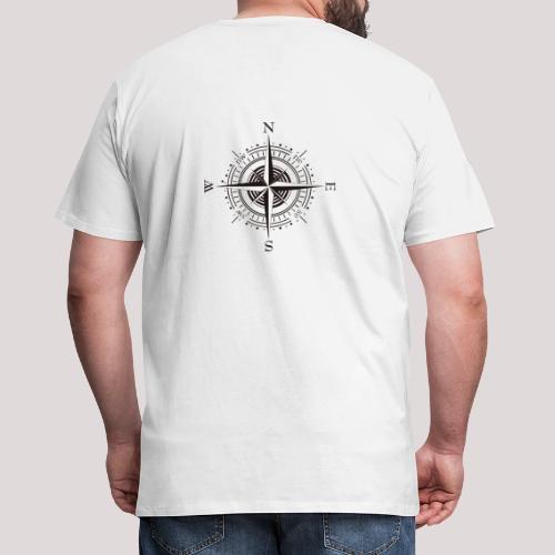 Windrose - Männer Premium T-Shirt