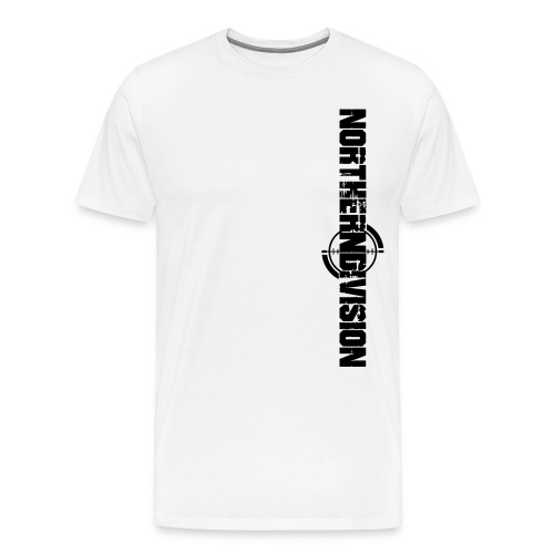 NORTHERNDIVISION_CROSSHAI - Miesten premium t-paita