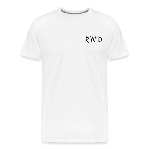 rnd schwarz - Männer Premium T-Shirt