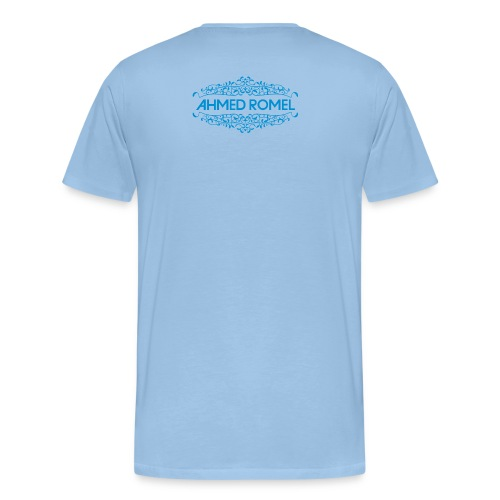AR logo blue just trance png - Men's Premium T-Shirt