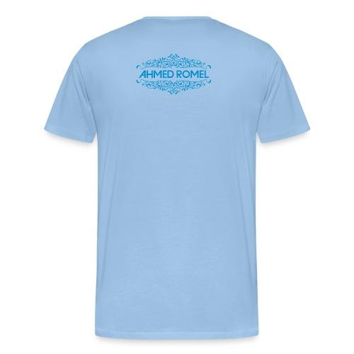 AR logo blue just trance png - Organic Baseball Cap