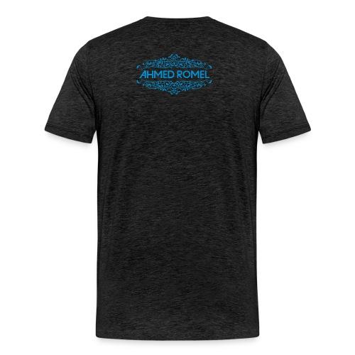 AR logo blue just trance png - Men's Premium T-Shirt