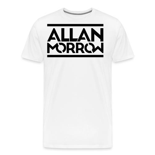 Allan Morrow logo - Men's Premium T-Shirt