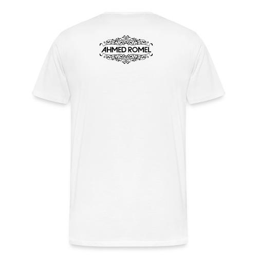 AR logo fulk black png - Men's Premium T-Shirt