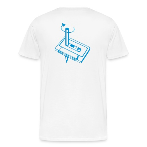 Kassette Spul doch mal zurück - Männer Premium T-Shirt