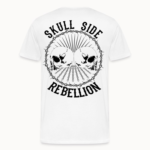 Skull side rebellion - Männer Premium T-Shirt